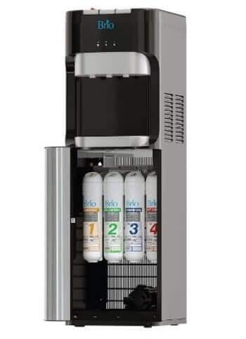 Brio Commercial Grade Bottleless Reverse Osmosis Drinking Water Filter Cooler Dispenser