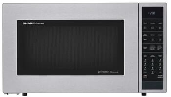 Sharp SMC1585BS Microwave Oven with Convection Cooking