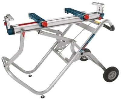 BOSCH T4B Portable Gravity-Rise Wheeled Miter Saw Stand