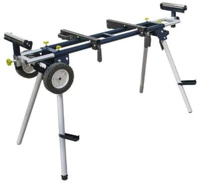 POWERTEC Deluxe MT4000 Portable Miter Saw Stand with Wheels