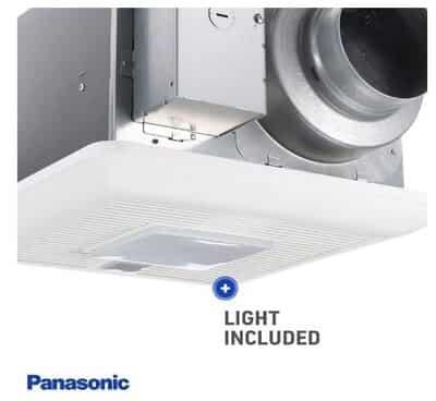 Panasonic FV-0511VQCL1 WhisperSense Ventilation Fan with Light