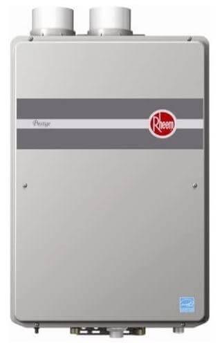 Rheem Tankless Water Heater, Indoor Direct Vent, RTGH-95DVLN