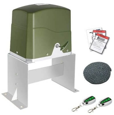 TOPENS CK700 Chain Driven Automatic Sliding Gate Opener Kit