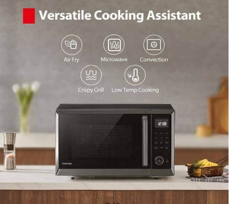 Toshiba 4-in-1 countertop convection microwave Oven