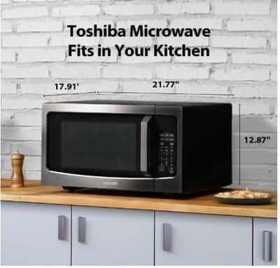 Toshiba ML-EM45P-BS Size