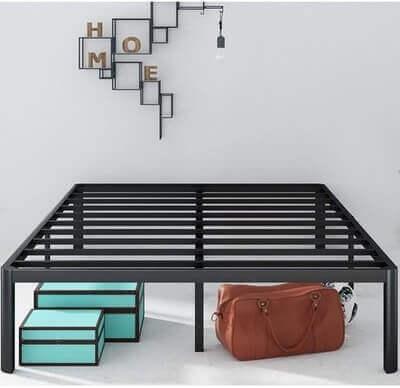 Zinus Van 16 Inch Metal Platform Bed Frame, AZ-MPRC-16K