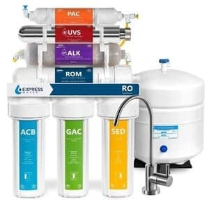 Express ROALKUV10M  11 Stage UV Reverse Osmosis Water Filtration System